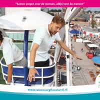 Flevoland.nl Voorbeeld case bruiloft Green Screen Events